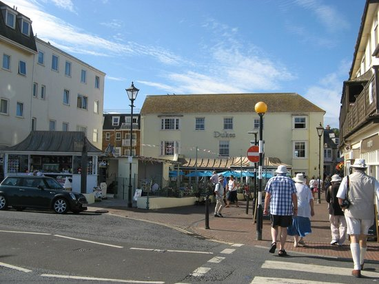Dukes sidmouth england omd men och prisj mf relse Hotels in sidmouth with swimming pool