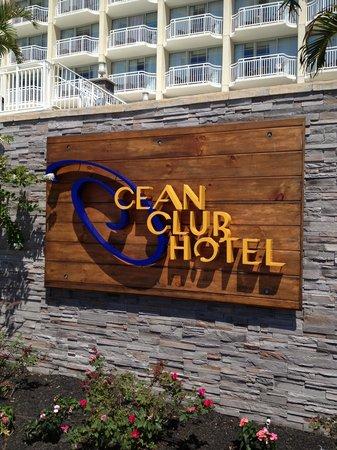 Ocean Club Hotel : Lovely Entrance