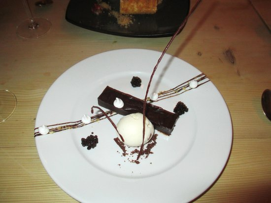 The Townhouse Restaurant: dessert