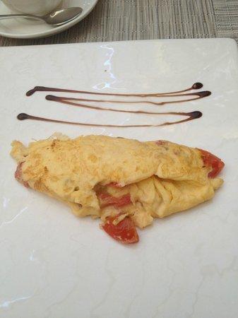 Hospes Palacio del Bailio : omelet