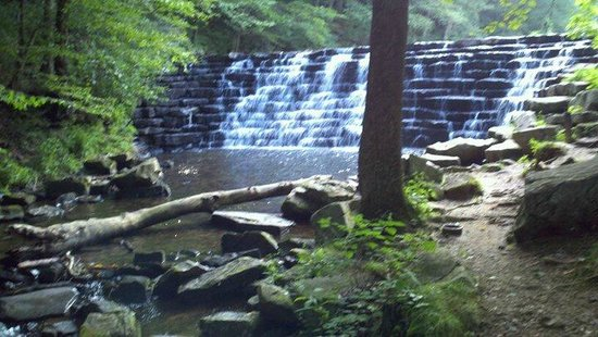 Somerset, Pennsylvanie : waterfall
