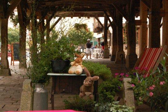 Le Thé dans la Vigne : Het magnifieke uitzicht