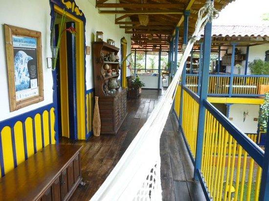Hacienda Combia: Ruhe und Relax wo immer mann hinschaut