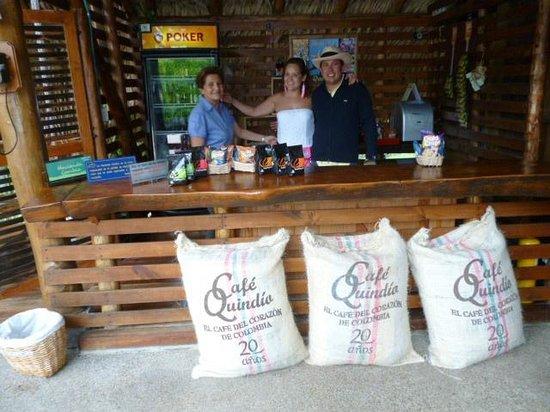Hacienda Combia: Gastfreundschaft