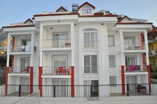 Hayat Apart Hotel: new building