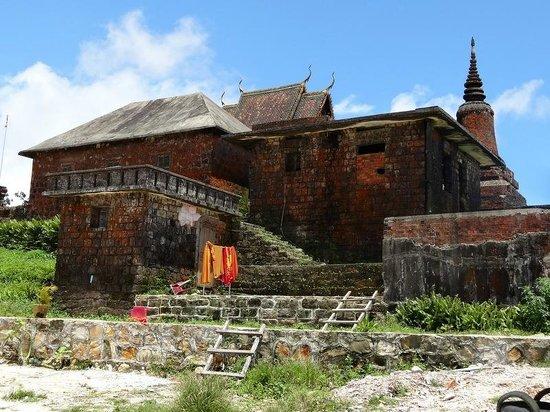 Bokor National Park : le temple au somment