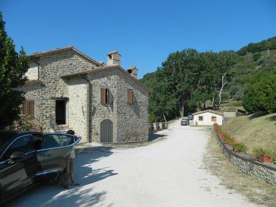 Agriturismo Val di Boccio : Il casale principale