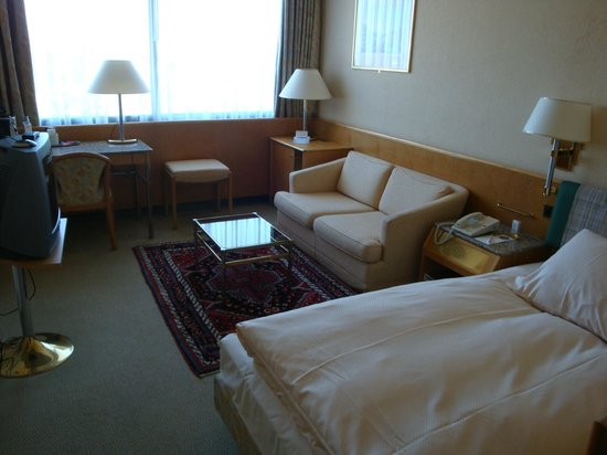 Crowne Plaza Geneva : Single Room