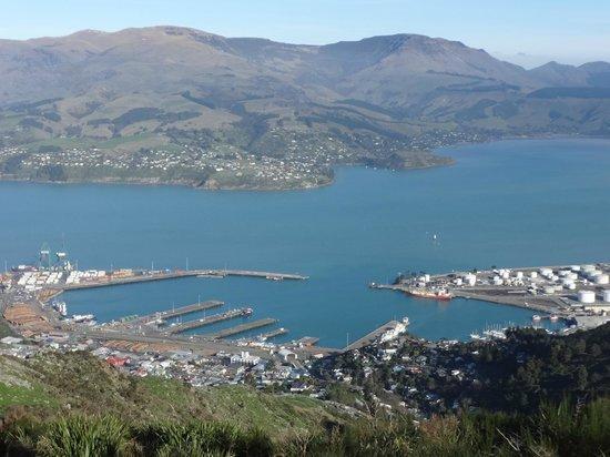 Lyttelton & it's Harbour