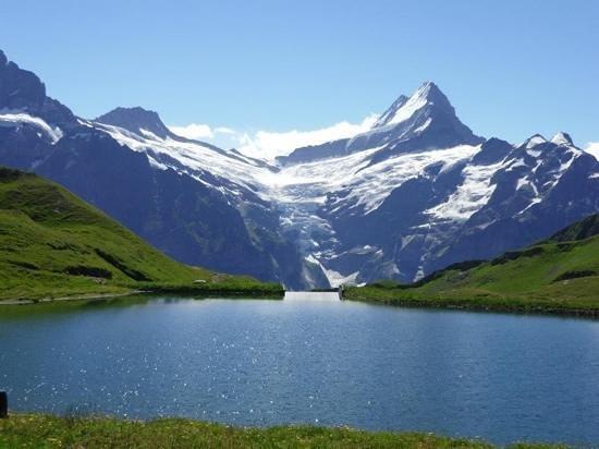 Grindelwald, İsviçre: Bachalpsee Lake