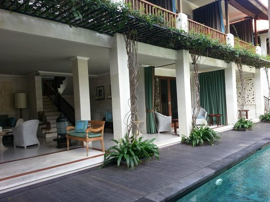Cinta Inn: relaxing area