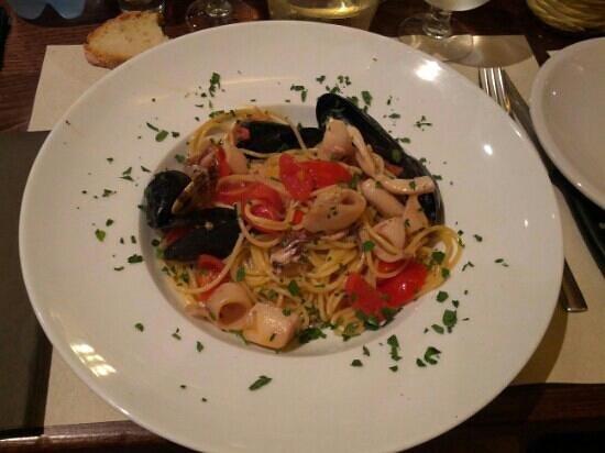 Ristorante Il Toscano: Spaghetti allo scoglio