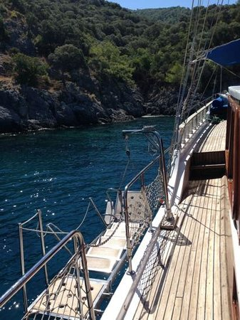 Ece Boutique Hotel: gulet trip Aquarium Bay