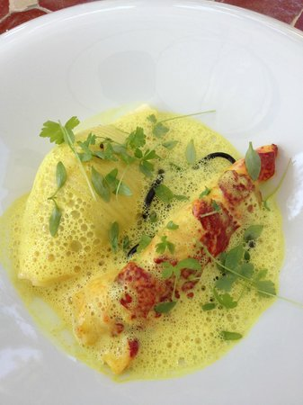 Restaurant Hiely Lucullus : Homard