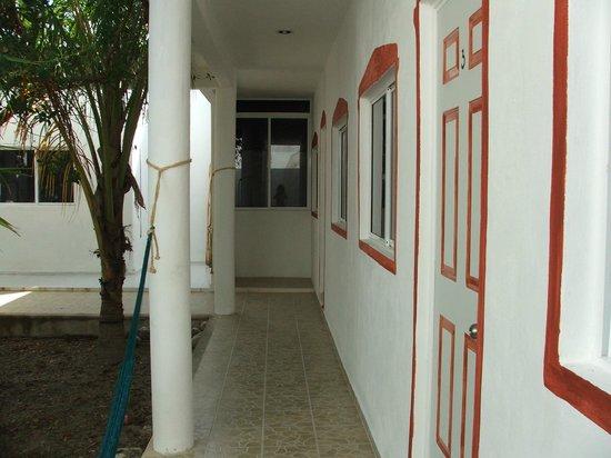 Hacienda La Catrina: entrance to the rooms