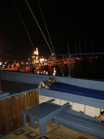 Ece Boutique Hotel: view of Fethiye from water taxi