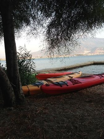 Ece Boutique Hotel: kayaks to borrow