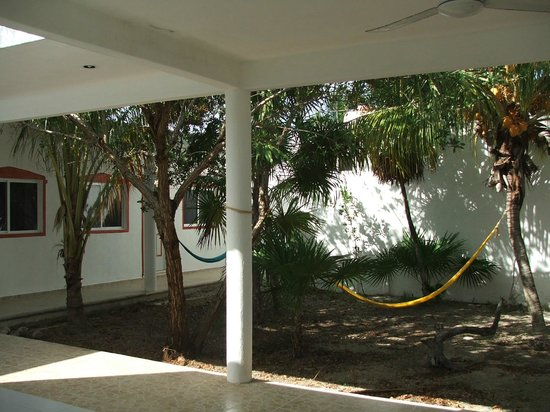 Hacienda La Catrina: small garden