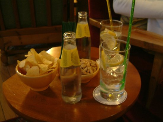 Victoria Parc Hotel: Refreshments and nibbles