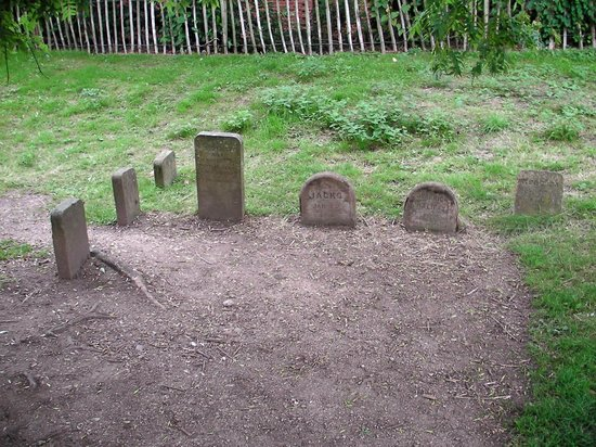 Coombe Abbey Hotel: Graves Of Dogs That Once Lived At Coombe Abbey