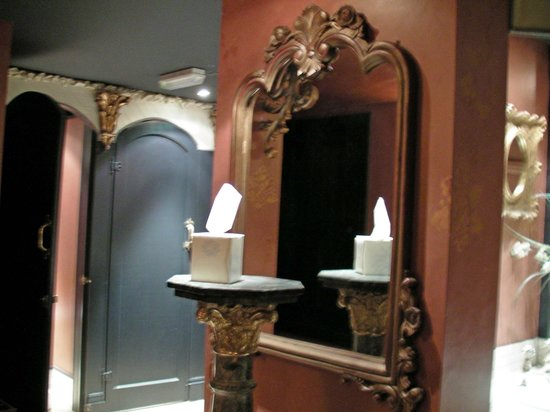 Coombe Abbey Hotel: Ladies Toilet View 1