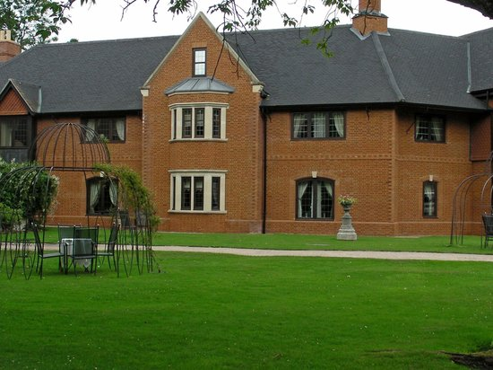 Coombe Abbey Hotel: New Part Of Coombe Abbey,Built About Two Years Ago