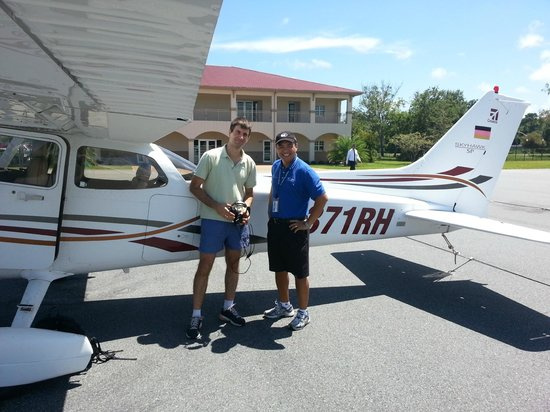 Travelodge Suites St Augustine: With my flight instructor