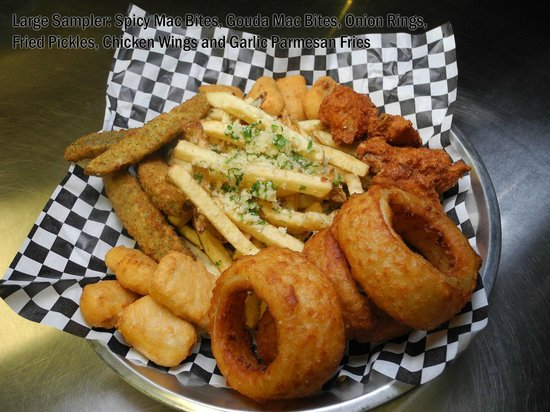 D-Dogs: Small Sample Appetizer Plate