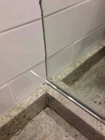 Residence Inn by Marriott - Montreal Westmount: poorly finished bathroom