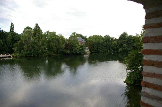 Moulin St Julien : Vue sur le lac