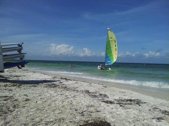 Tortuga Beach Resort: beach in the morning