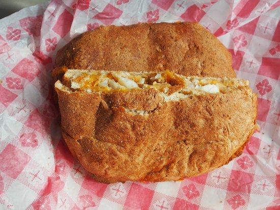 G's Pizzeria & Deli : White fish sandwich
