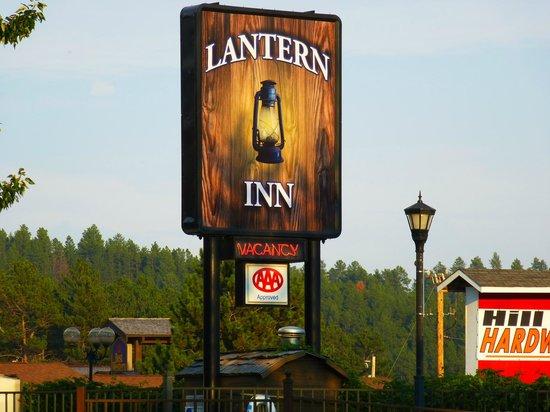 Lantern Inn: insegna