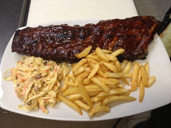 Sweet Peppers Restaurant & Bar Aruba : las mejores RIBS BBQ q he probado