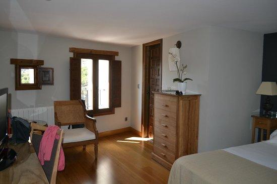 Hospederia de Cuenca : zona estar habitación