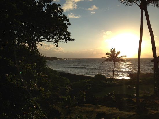 Bamboo Inn on Hana Bay: Our view from the Honu Suite