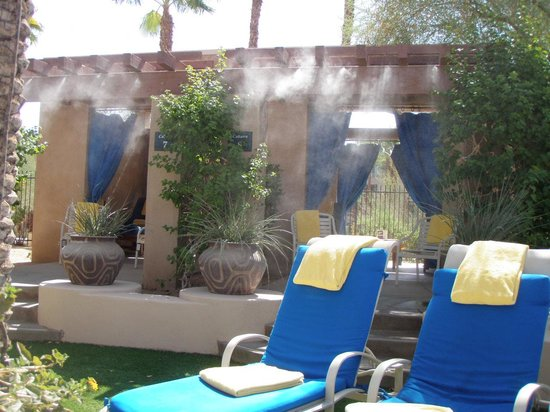 Hyatt Regency Indian Wells Resort & Spa: Adult Pool Lounge Area