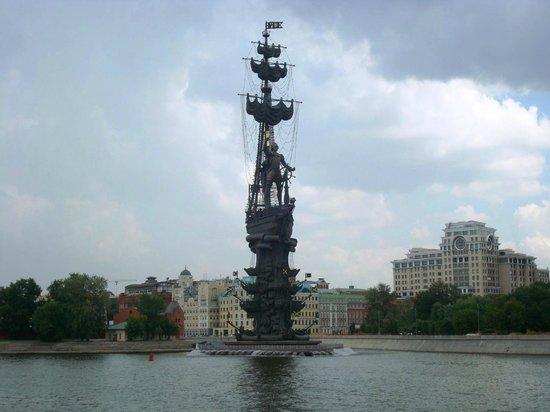 Peter The Great Monument: Estátua feia de Pedro, o Grande