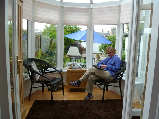 Craggallan Guest House : Conservatory