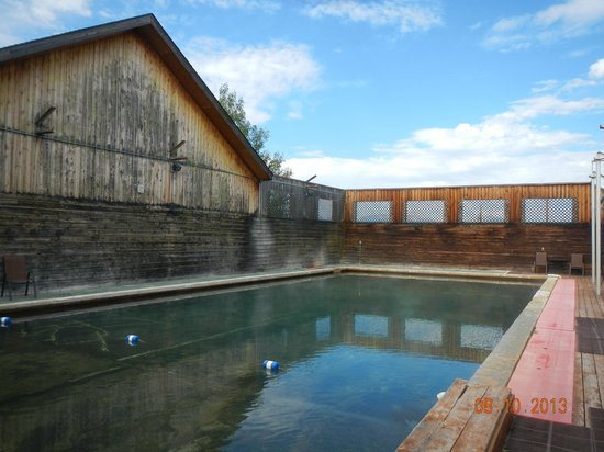 Jackson Hot Springs Lodge: The pool