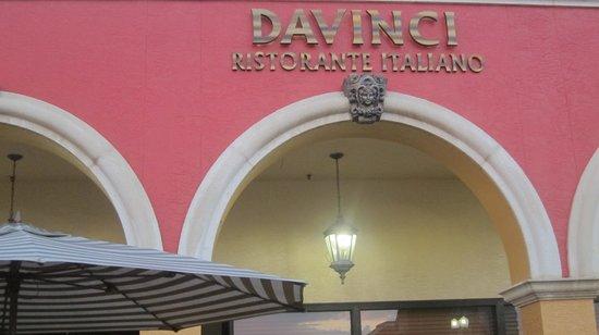 Davinci: Outside or restaurant