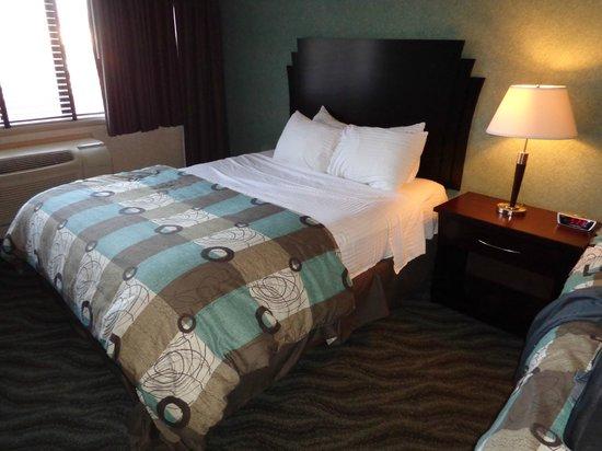 Concorde Inn Rochester Hills : First floor room (1 of 2 queen beds)