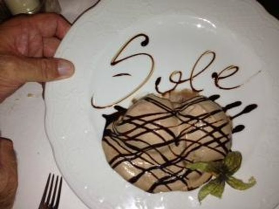 Profiteroles from Sole!
