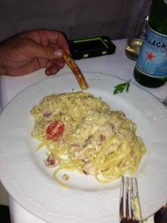 Sole : Pasta Carbonara