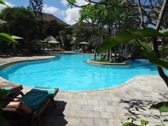 Hotel Vila Lumbung: Large pool