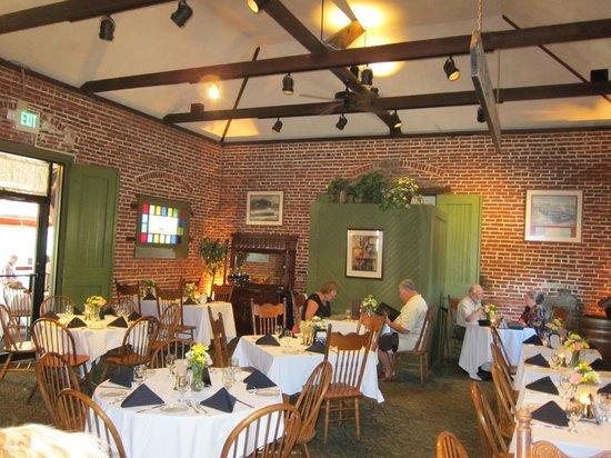 Baldwin's Station: The main dining room.