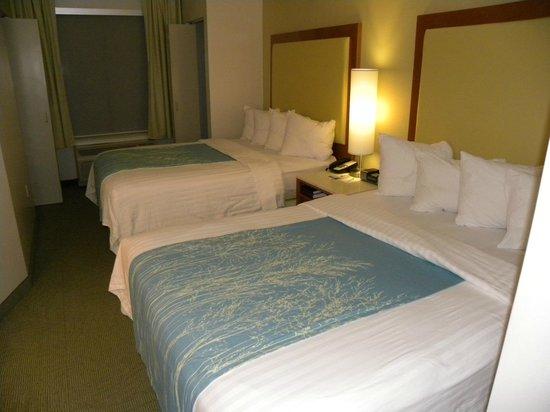 SpringHill Suites Sacramento Roseville: Two beds