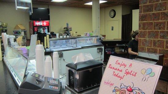 Beebe's Ice Cream: Inside the Store