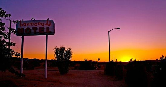 Harmony Motel at Sunset