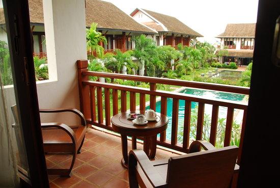 Green Park Boutique Hotel : Guest room's terrace